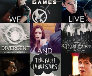 book, the hunger games, and fandoms image