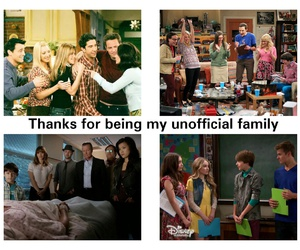 family, friendship, and happiness image