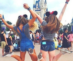 disney, disneyland, and love image