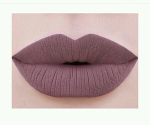 marshmallow, matte, and lipstck image