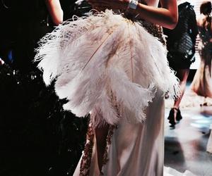 fashion, dress, and runway image