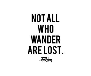 quote, lost, and black image