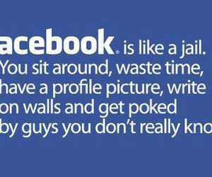 facebook, jail, and funny image