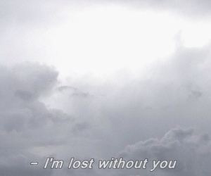 lost, pale, and quote image