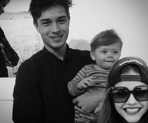 Francisco Lachowski, baby, and boy image