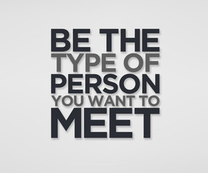 good person and quotes to live by image