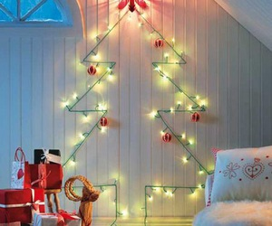 christmas, tree, and diy image