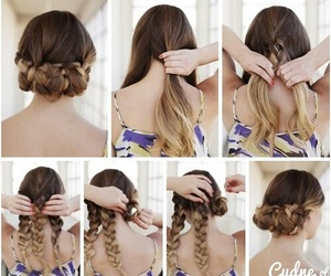 hair, tutorial, and facil image