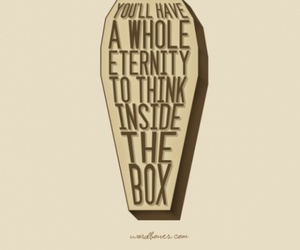 quote, box, and eternity image