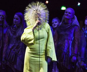 bjork, cool, and live image