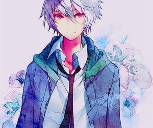 anime, mirai nikki, and anime boy image