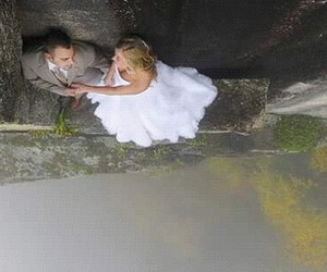 bride, extreme, and mountain image