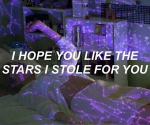 quotes, stars, and grunge image