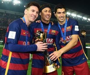 neymar, messi, and suarez image