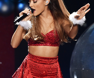 christmas and ariana grande image