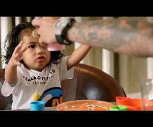 baby, beautiful, and chris brown image
