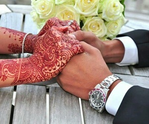 arab and henna image