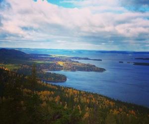 autumn, finland, and landscape image