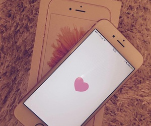 iphone, we heart it, and apple image
