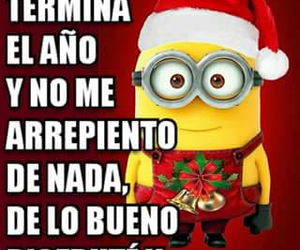 christmas, divertido, and minions image