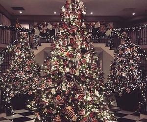 christmas, light, and kardashian image
