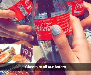 cheers, heaters, and cola image