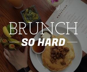 brunch, easel, and font image