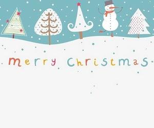 christmas, wallpaper, and snow image