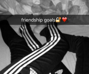 adidas, friendship, and goals image