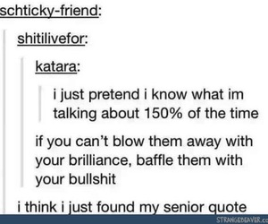 funny, tumblr, and quotes image