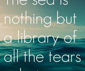 photography, quote, and sea image