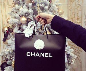 chanel, christmas, and gift image