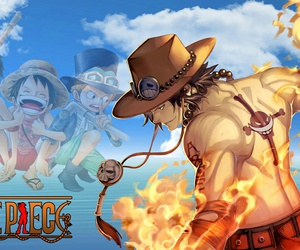 one piece, article, and ace image