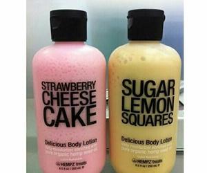 lemon, pink, and strawberry image
