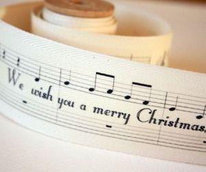 christmas, song, and music image