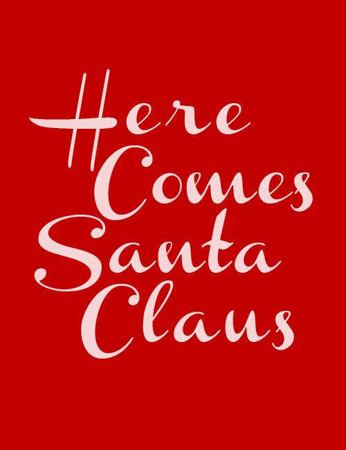 christmas, santa, and red image