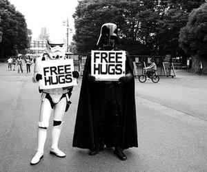 star wars, hug, and free hugs image