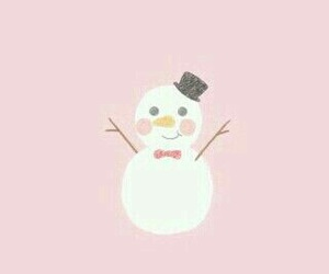 snowman, snow, and cute image