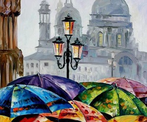 art and umbrella image