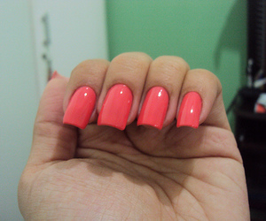 beutiful, girl, and pink nails image