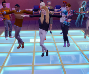 dance, sims, and the sims image
