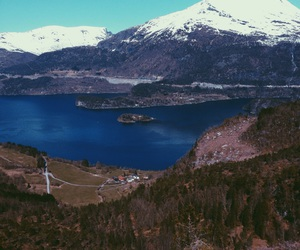 home, landscape, and norway image