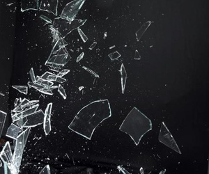 glass and broken image