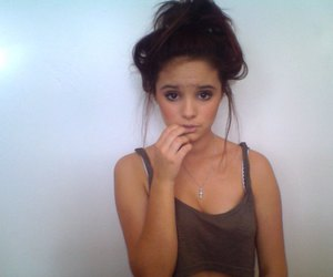 girl, brunette, and pretty image