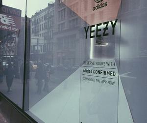 yeezy, adidas, and kanye image