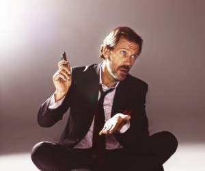 dr house, house, and hughlaurie image