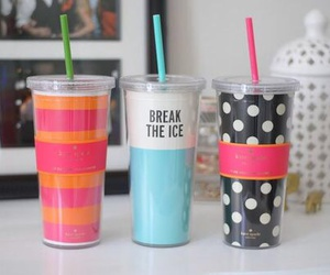 cup, drink, and girly image