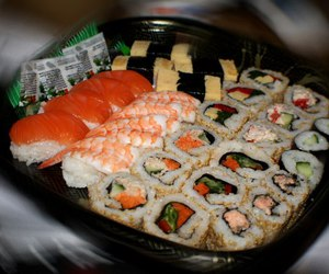 food, sushi, and add a tag image