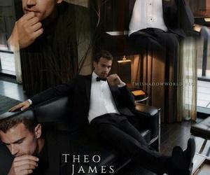theo james and theo james hugo boss image