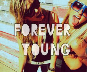 Forever Young, girl, and young image